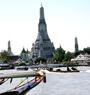 Thonburi Klongs, and Wat Arun /SSMTK (Departure from Bangkok)